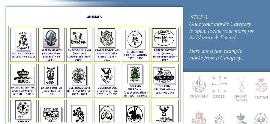 Porcelain Marks Pottery Marks And Ceramic Marks Guide